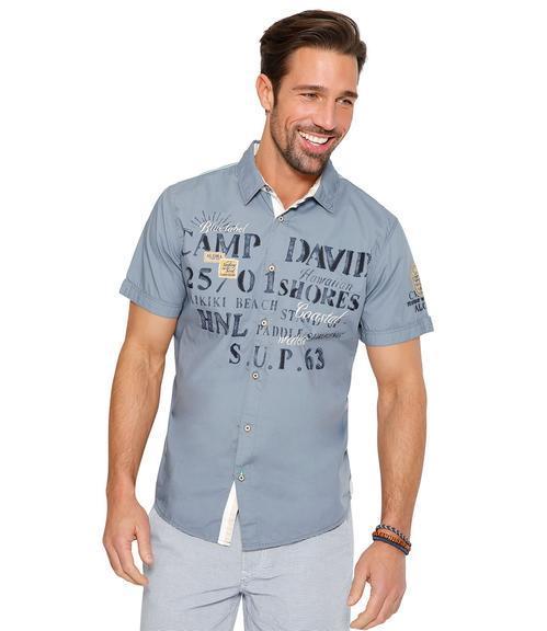 Košile Regular Fit CCU-1855-5598 cliff grey|M - 1