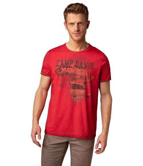 Tričko CCU-1900-3712 Red|M - 1
