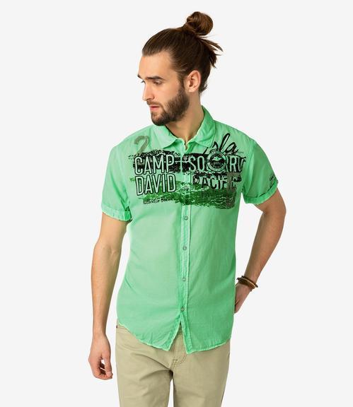 Košile CCU-1900-5991 neon green|XL - 1