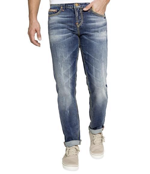 Džínové kalhoty Regular Fit CDU-1900-1417 L32 vintage used|33 - 1
