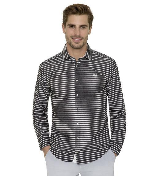 Košile Modern Fit CHS-1801-5002 black|XL - 1