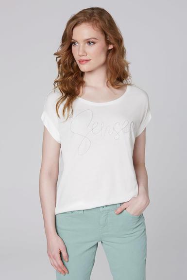 Tričko SCU-2000-3370 Cotton White L - 1