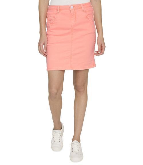 Džínová sukně SDU-1900-7392 intense orange S - 1