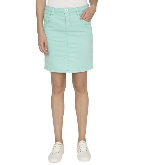 Džínová sukně SDU-1900-7392 soft green S - 1