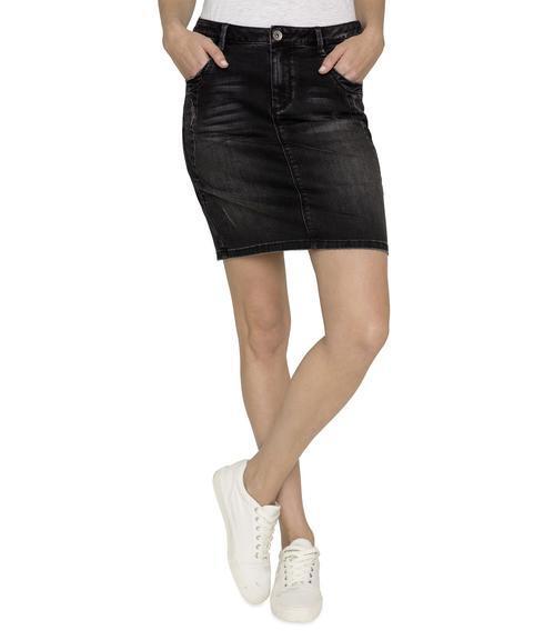 Džínová sukně SDU-1900-7399 black used S - 1