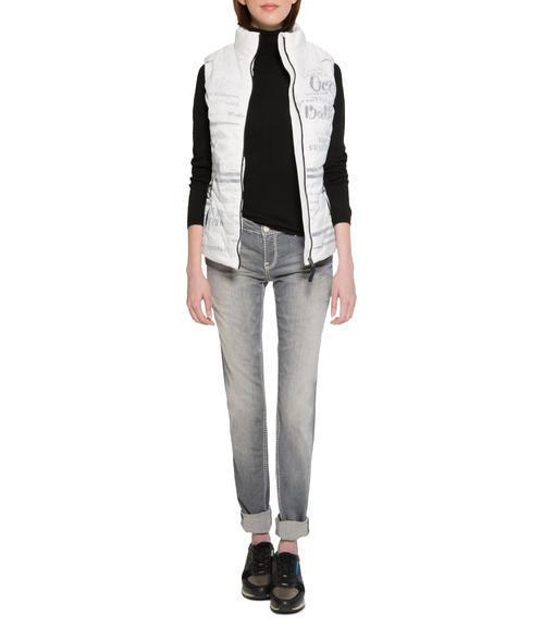 Světlé džíny se sepraným efektem|31 - 1