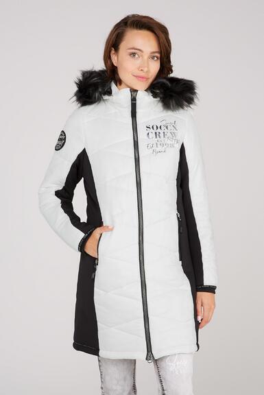 Kabát SP2155-2299-31 ivory|M - 1