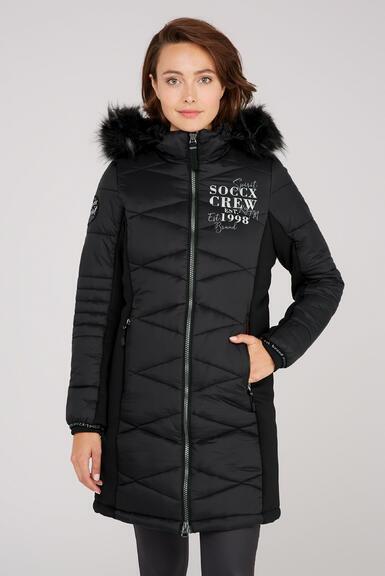 Kabát SP2155-2299-32 black|M - 1