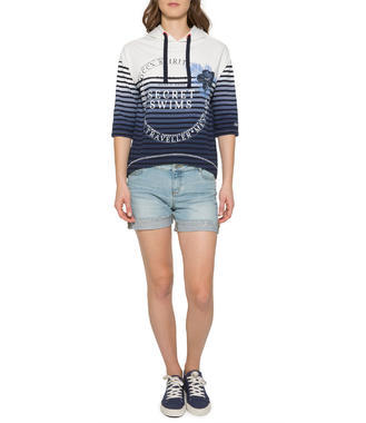 sweatshirt wit SPI-1704-3995 - 1/5