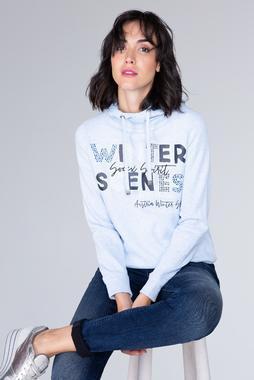 sweatshirt wit SPI-1908-3126 - 1/7