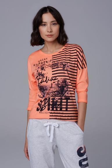 Tričko SPI-1911-3482 neon orange|L - 1