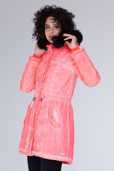 Parka SPI-1955-2337 neon rosa|XXL - 1