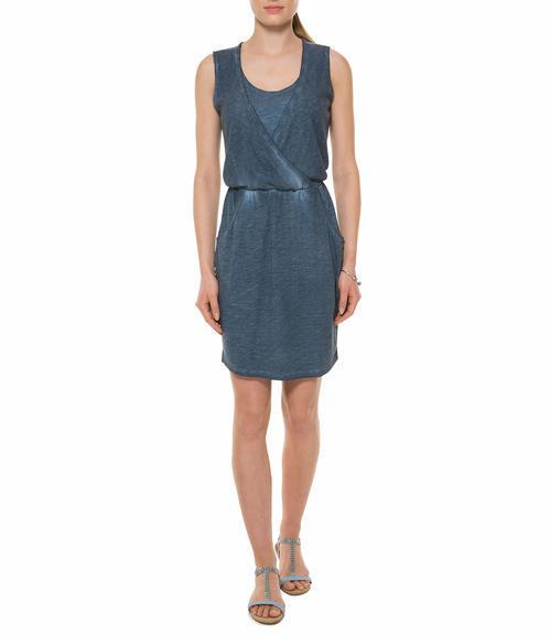 Tmavě modré šaty|M - 1