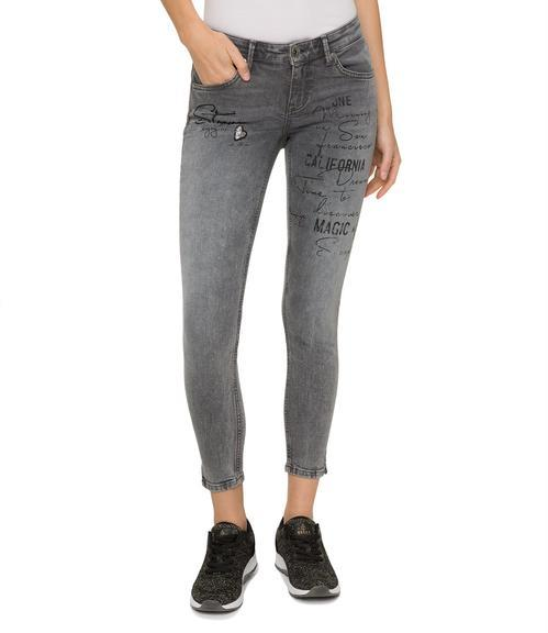 Slim Fit Jeans STO-1801-1149 grey used|26 - 1