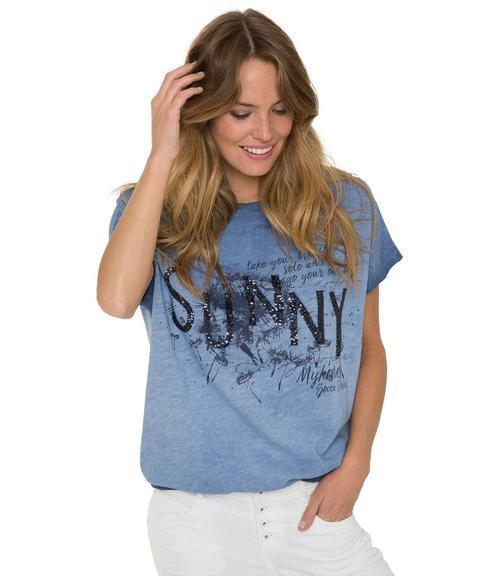 tričko STO-1804-3273 blue ocean|S - 1