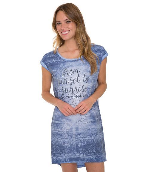 šaty STO-1804-7277 blue lavender|M - 1