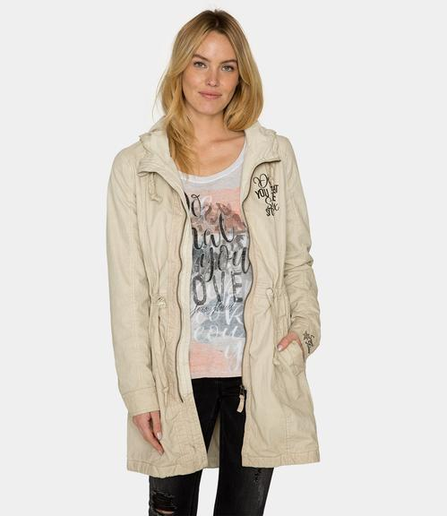 Parka STO-1812-2202 cold beige|XS - 1