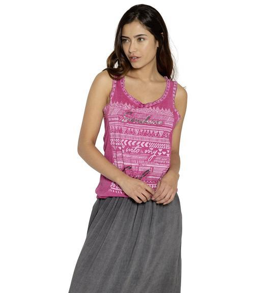 Top STO-1903-3560 tribal pink XS - 1
