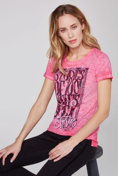 Tričko STO-2004-3842 oriental pink|XXL - 1