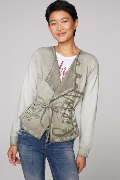 Cardigan STO-2006-3151 Mellow Olive|S - 1