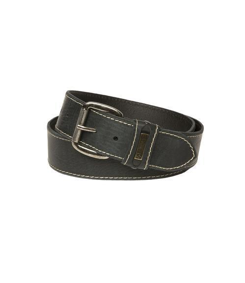 Kožený pásek 999-6112 black|105