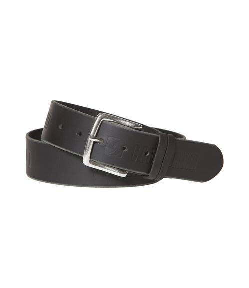 Kožený pásek 999-6128 black|110