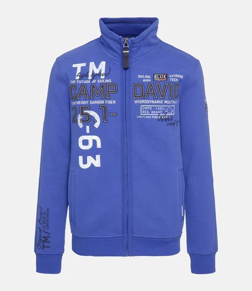 Mikina CCB-1811-3072 signal blue|S - 1