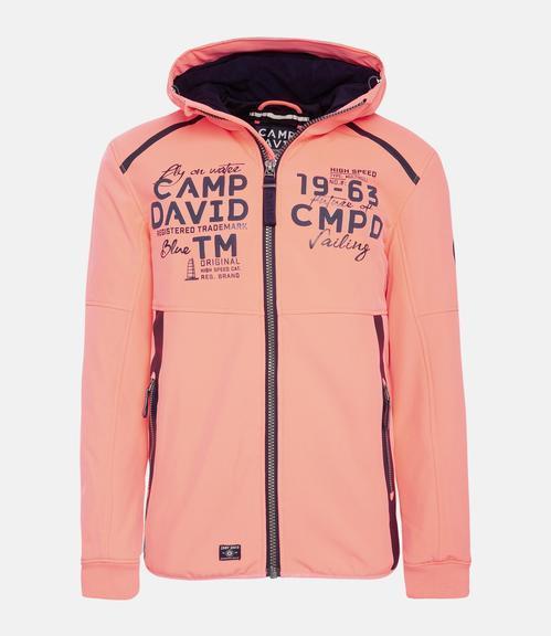 Softshellová bunda CCB-1811-3076 neon flame|S - 1
