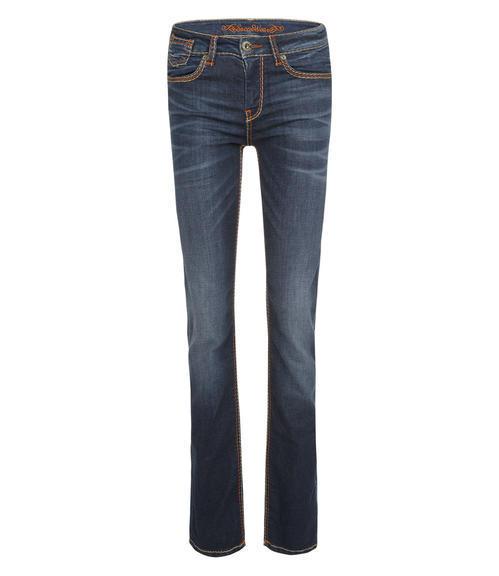tmavě modré strečové džíny|27 - 1