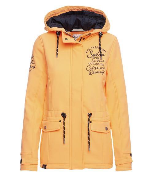 Softshellová bunda SPI-1900-2170 lush orange|XS - 1