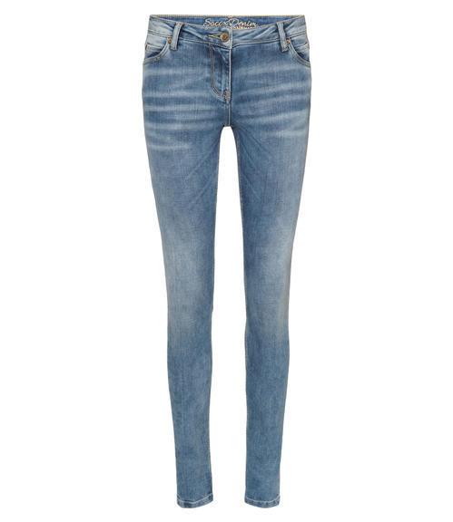 Světle modré strečové džíny|32 - 1