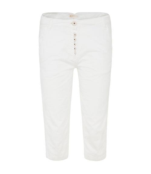 Bílé 3/4 kalhoty|M - 1