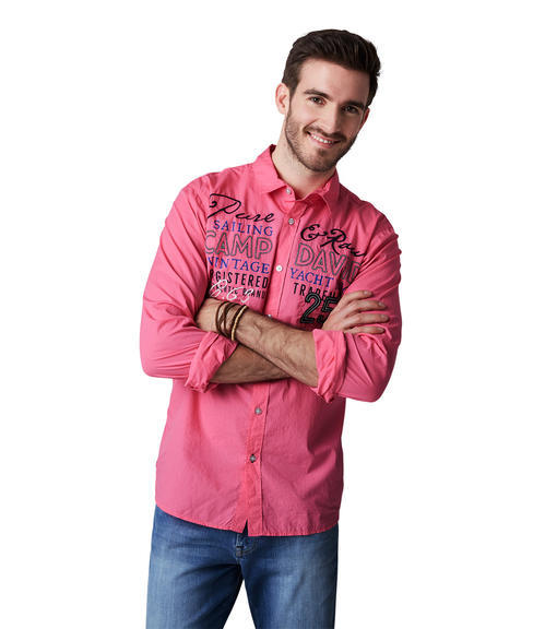 Košile CCU-1900-5610 Deep Pink|S - 1