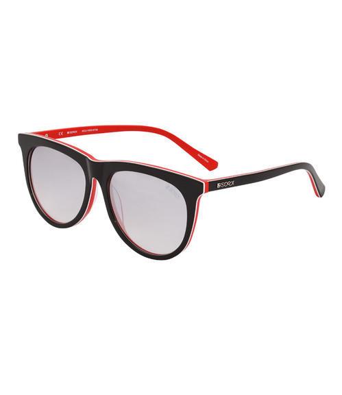 Dámské sluneční brýle CCU-1855-8738 Black Red|UNI - 1