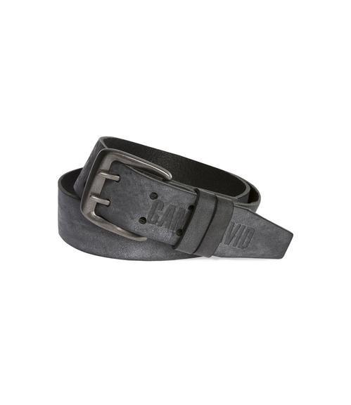 Pásek kožený CCU-9999-8423 black 90