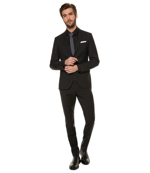 Černé oblekové sako|46