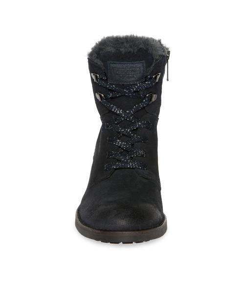 Semišové boty SCU-1755-8946 dusty black|38 - 2