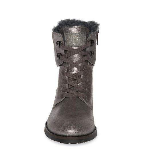 Semišové boty SCU-1755-8946 silver grey|36 - 2