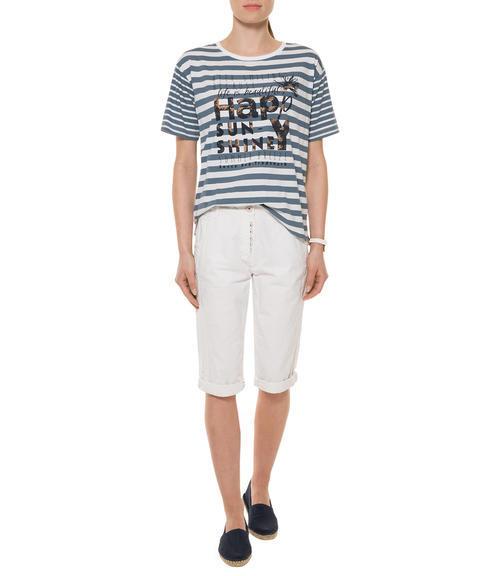 Bílé 3/4 kalhoty|M - 2