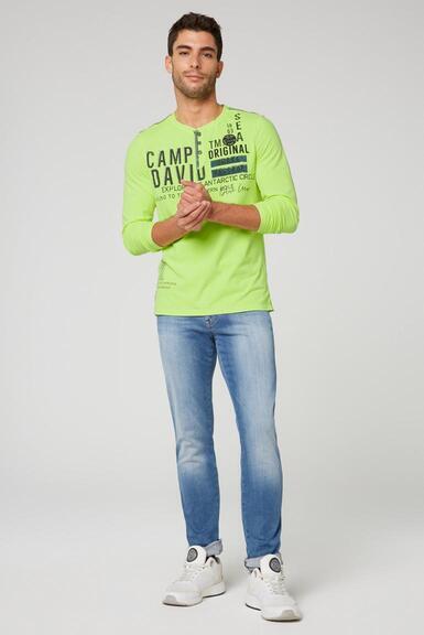 Tričko CB2108-3203-22 neon lime|XL - 2