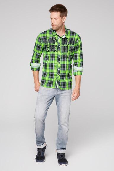 Košile CB2108-5206-21 neon lime|M - 2