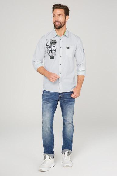 Košile CB2108-5207-11 opticwhite|XXL - 2
