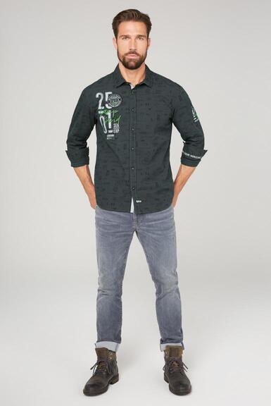 Košile CB2108-5216-11 black|XXL - 2