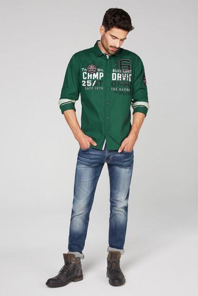 Košile CCB-2010-5256 green sea|L - 2