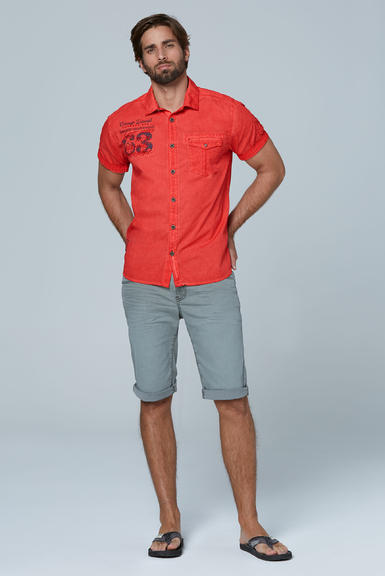 Košile CCG-2003-5713 red orange|M - 2