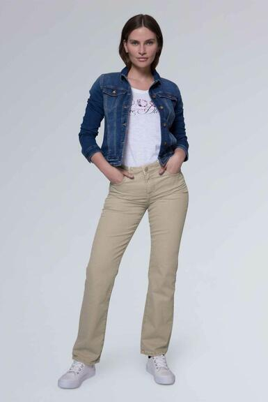 Džínové kalhoty SDU-1900-1455 beige|32 - 2