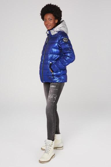 Bunda SP2155-2300-32 metallic blue|L - 2