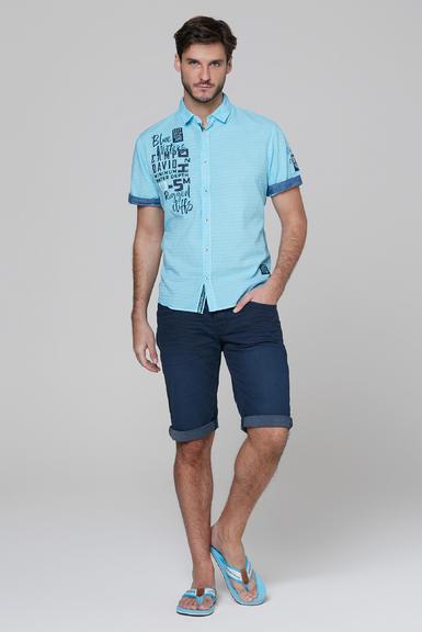 Košile CCB-2004-5678 fresh aqua|S - 2