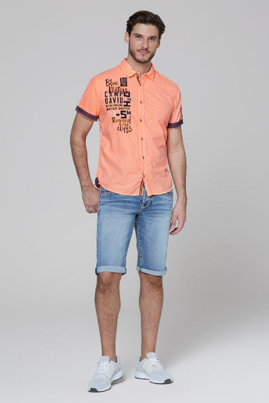 Košile CCB-2004-5678 neon orange|S - 2