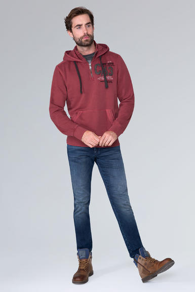 Mikina CCG-1910-3074 maroon red|M - 2